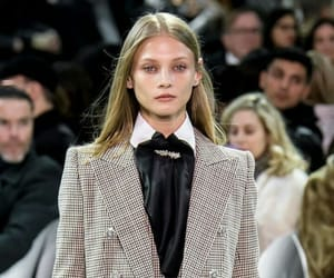 Anna Selezneva, model, and alexandre vauthier image