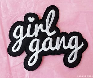 pink, girl gang, and girl power image