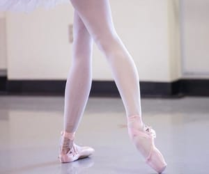 ballerina, soft, and ballet image