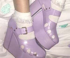 aesthetic, fashion, and lilac image