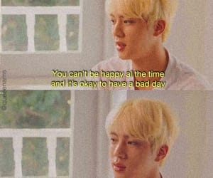 aesthetic, jin, and quote image