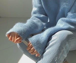 baby blue, clothes, and simple image