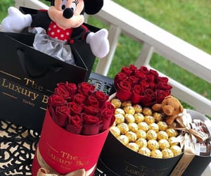 chocolate, flower, and flowers image