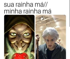 kpop, memes, and evil queen image