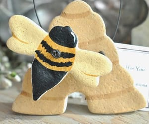 beehive, salt dough ornament, and etsy image