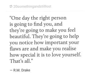 couple, Drake, and feelings image