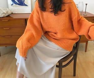 fashion, kfashion, and long skirt image