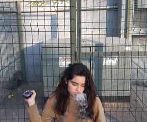 dangerous, girl, and vaper image