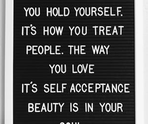 acceptance, love, and beauty image