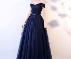 prom dress, prom dresses for cheap, and prom dresses blue image