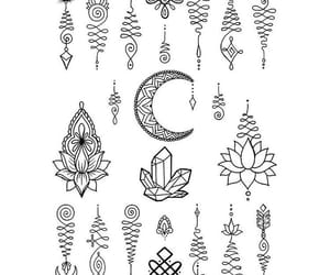 tattoo, ideas, and mandala image