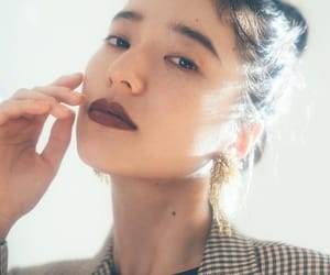 face, japanese, and makeup image