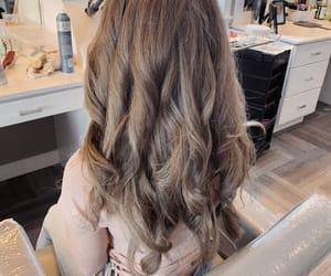 blonde, highlights, and balayage image