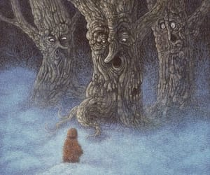 fairy tale, forest creature, and illustration image