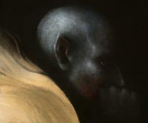 dark, illustration, and vampire image