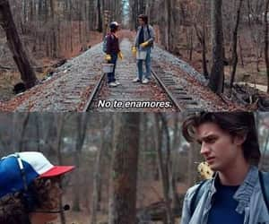 stranger things, frases, and amor image