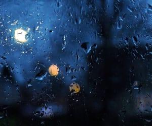 night, quote, and rain image