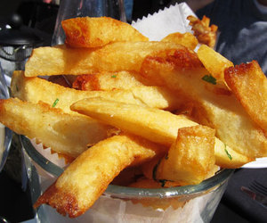food, fries, and beautiful image