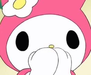 bunny, drawing, and hello kitty image