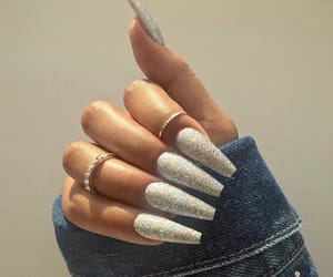 nails, style, and woman image