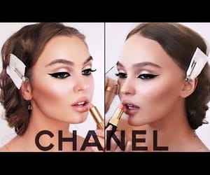 beauty, chanel, and glam image