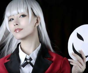 cosplay, kakegurui, and ririka momobami image