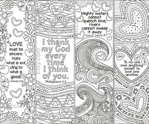 bookmarks, coloring, and etsy image