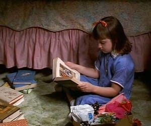 matilda, book, and 90s image