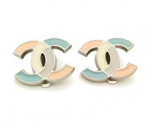 chanel, earrings, and pastel image