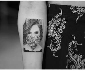 art, ink, and beauty image