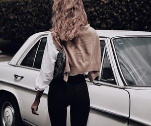 car, fashion, and hair image