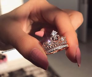 aesthetic, ring, and beauty image