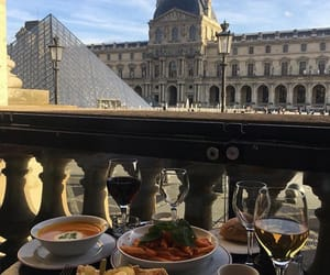 food, paris, and travel image