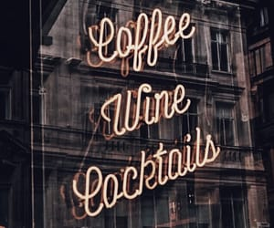 cafe, lights, and restaurant image