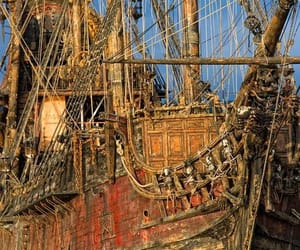 pirate, ship, and tall ships image