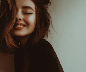 girl, face, and hair image