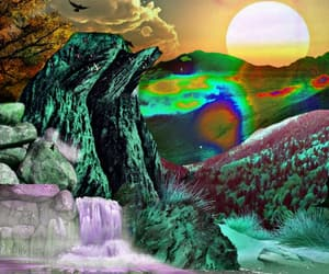 art, calm down, and meditate image