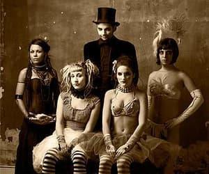 carnival, dark, and vintage image