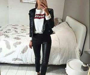 black, jacket, and grunge image
