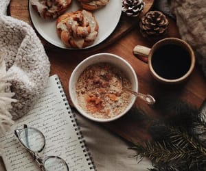 bedroom, blanket, and breakfast image