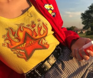 aesthetic, amarillo, and clothes image
