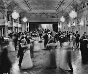 dance, black and white, and black image