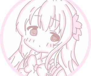anime, blush, and girl image