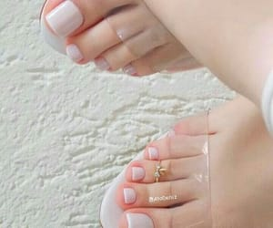 nails, ring, and toenails image
