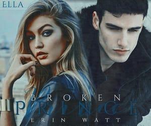 book, erin watt, and broken prince image