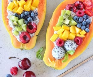 food, fruit, and fit image