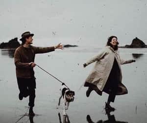 dog, goals, and vintage image