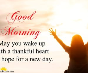 morning, blessed morning, and thank you god image