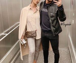 boyfriend girlfriend, louis vuitton lv, and couple relationship image