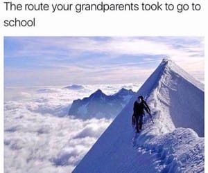 cars, funny, and grandparents image